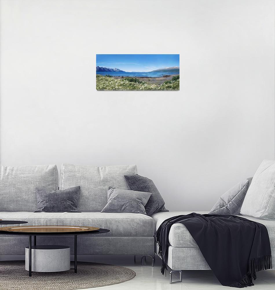 """View from Spåkenes""  (2007) by skabma"
