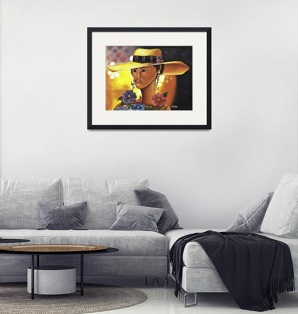 """""""Yellow Hat""""  (2010) by createability"""