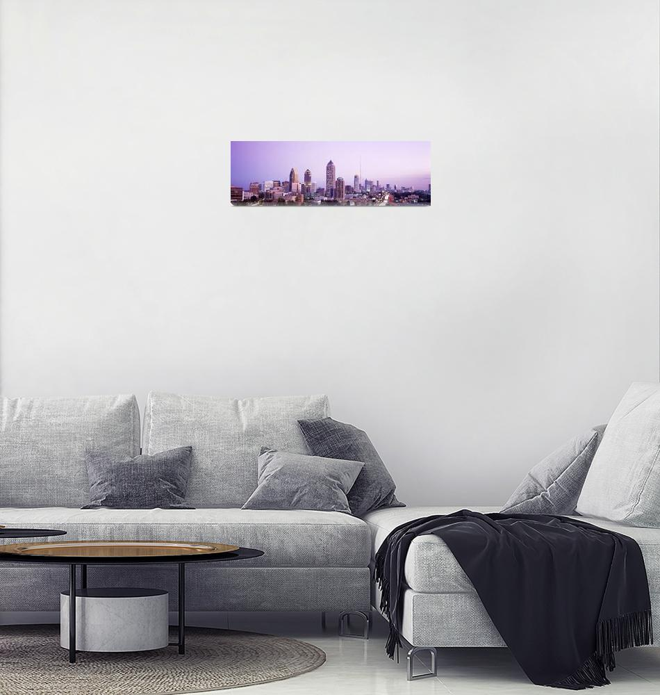 """Twilight Atlanta GA""  by Panoramic_Images"