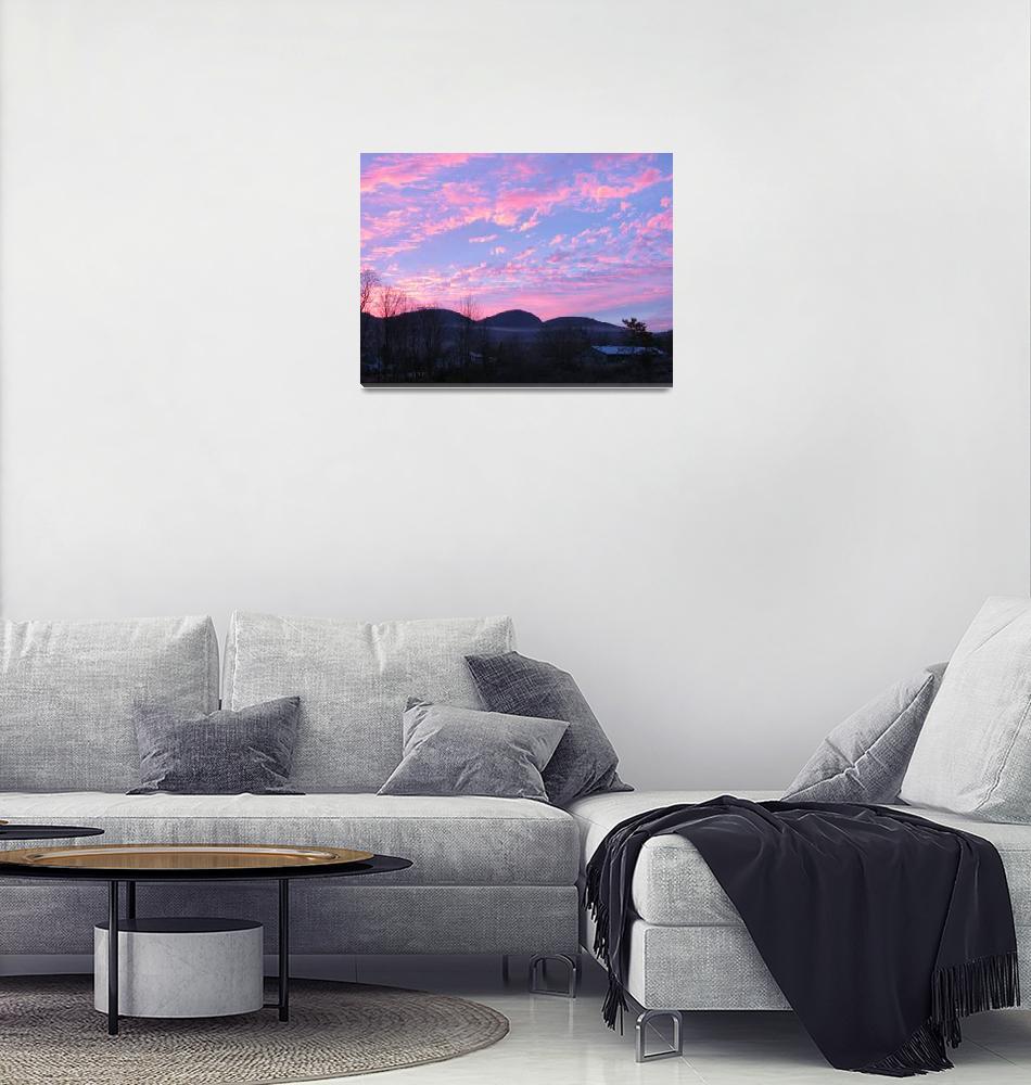 """""""Beautiful Sunrise 4""""  (2009) by Whittier"""