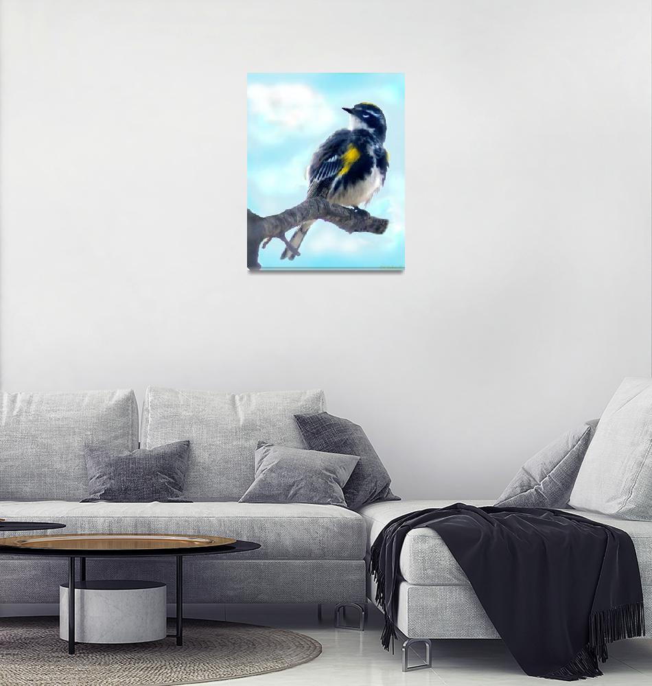 """Bird B""  (2013) by ralphnelsen"