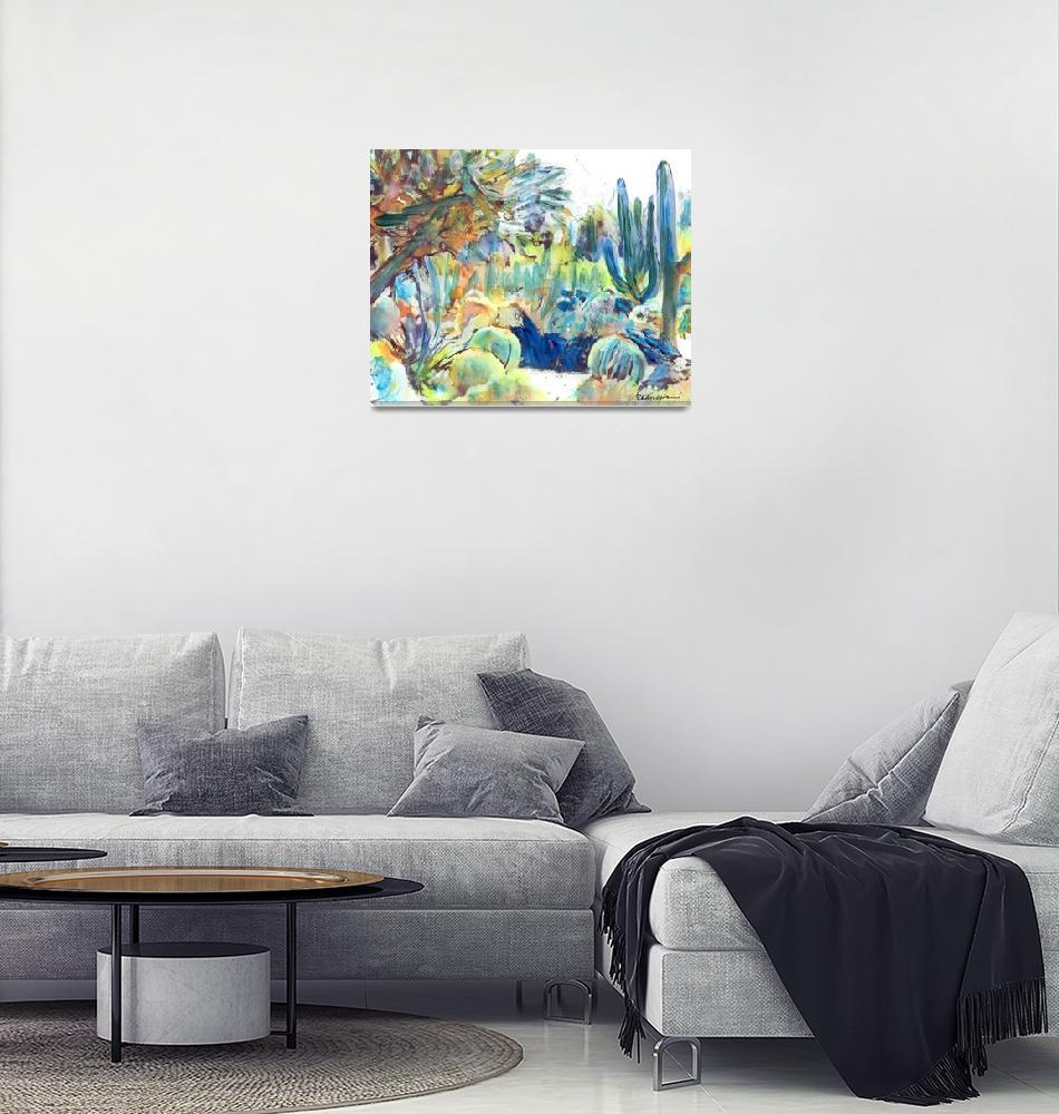 """""""Cactus Garden""""  (2019) by RDRiccoboni"""