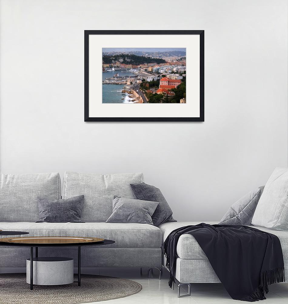 """""""City of Nice in the French Riviera""""  (2008) by weim"""