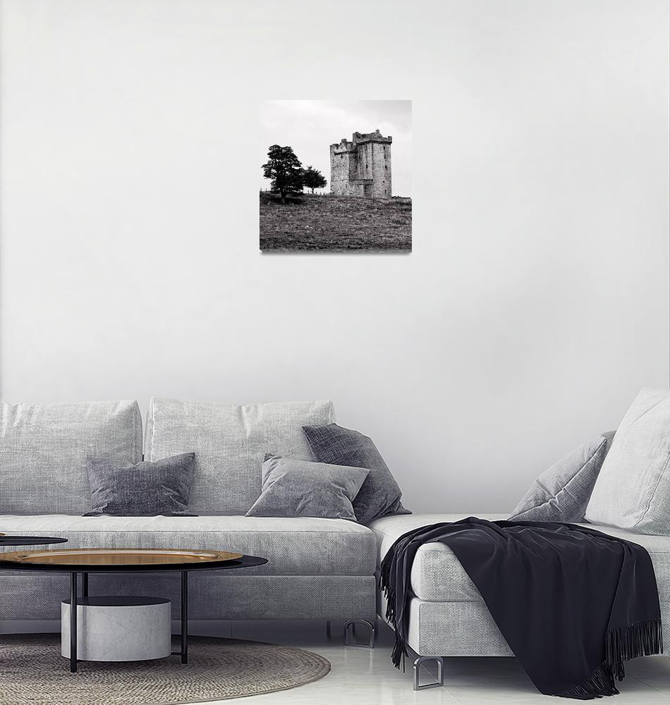 """Clackmannan Tower""  (2014) by jeremylavender"