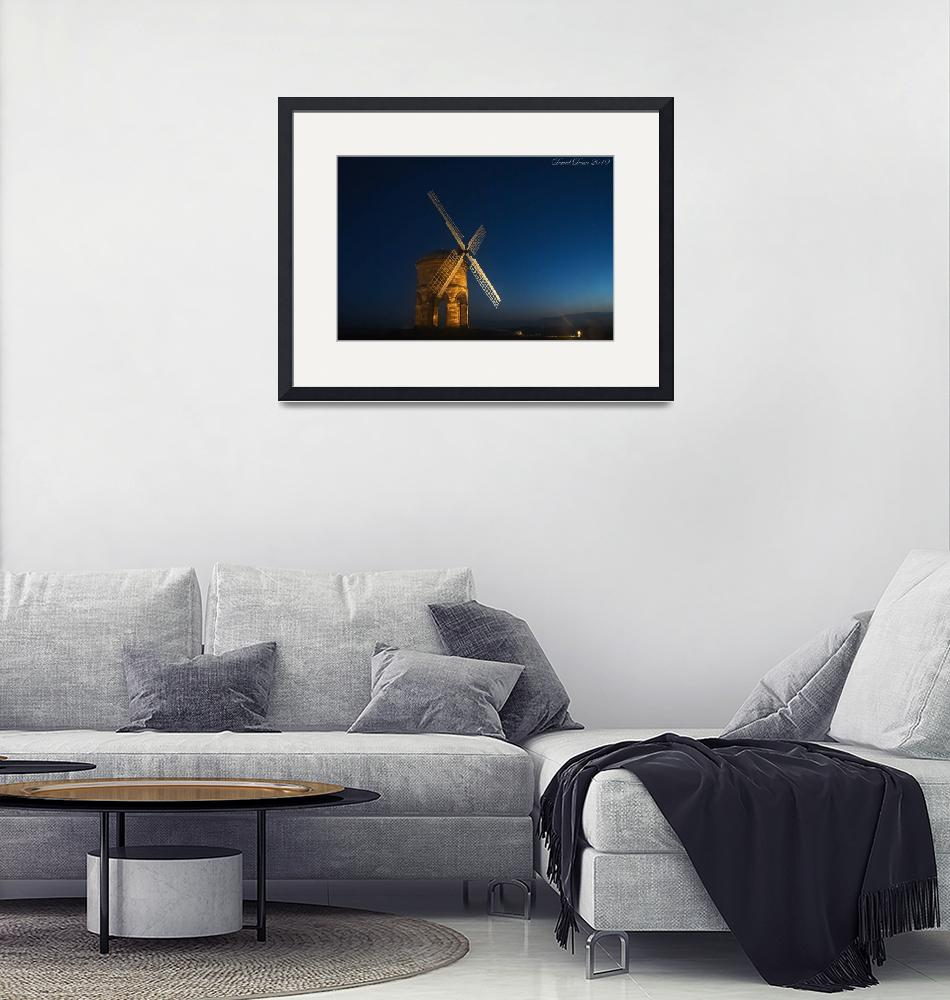 """""""Windmill at Night"""" by jactoll"""