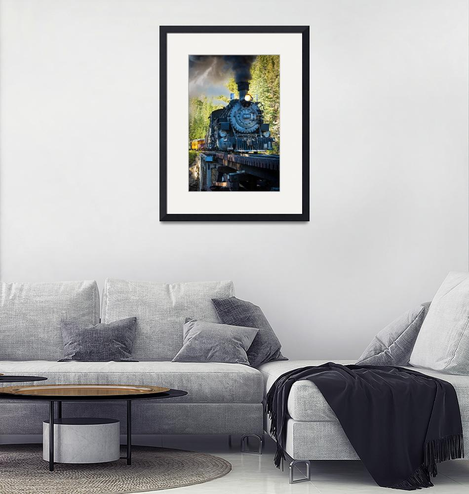"""Durango Locomotive""  (2012) by Inge-Johnsson"