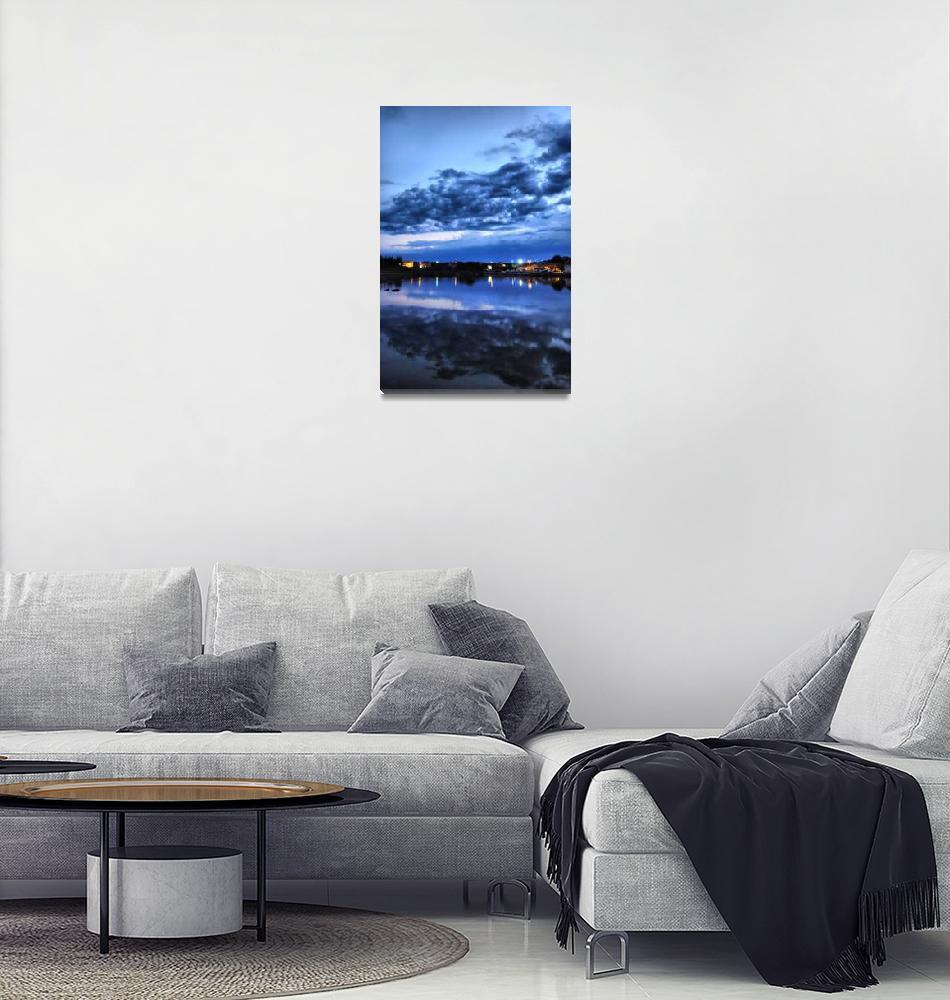 """""""Sky reflection""""  by Tihci"""