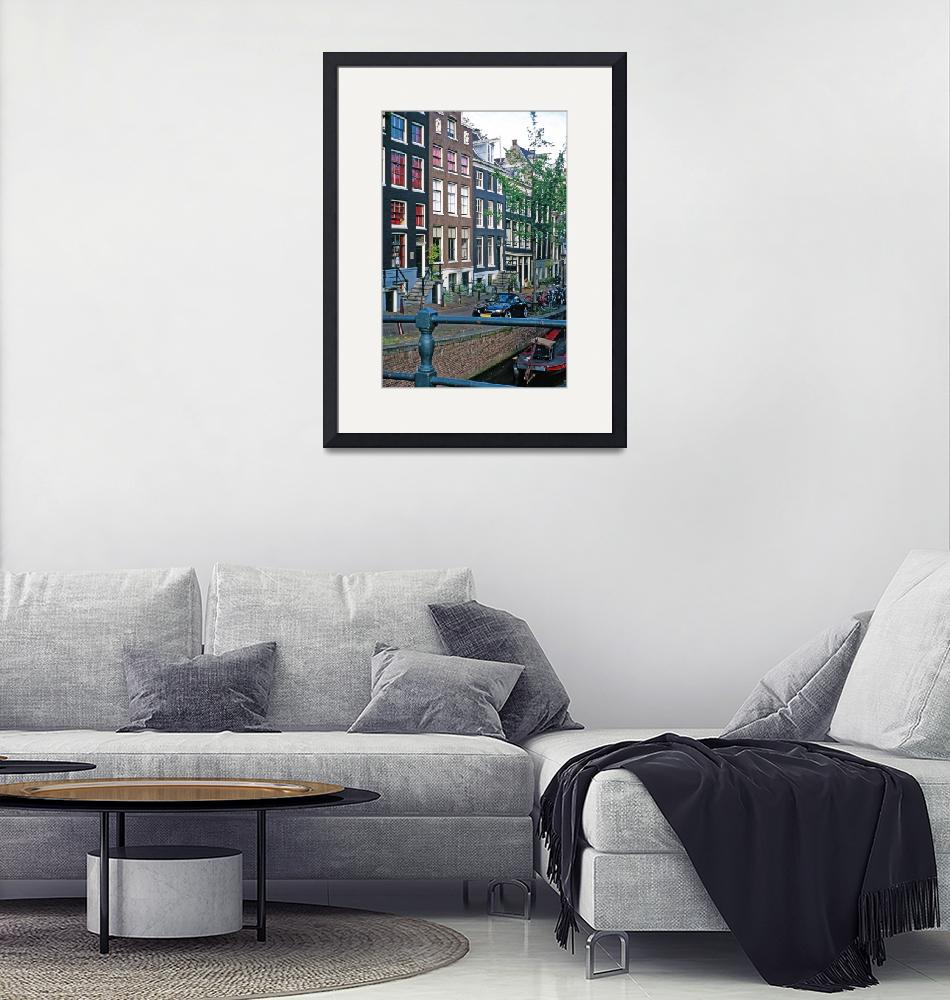 """""""23Canal Houses""""  (2007) by PriscillaTurner"""