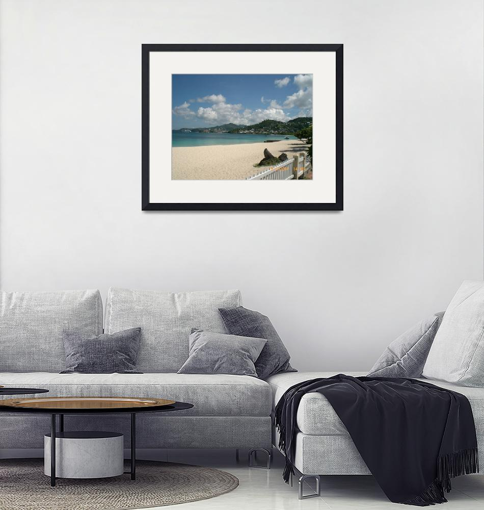 """""""White sands and blue sea""""  (2007) by jadavision"""