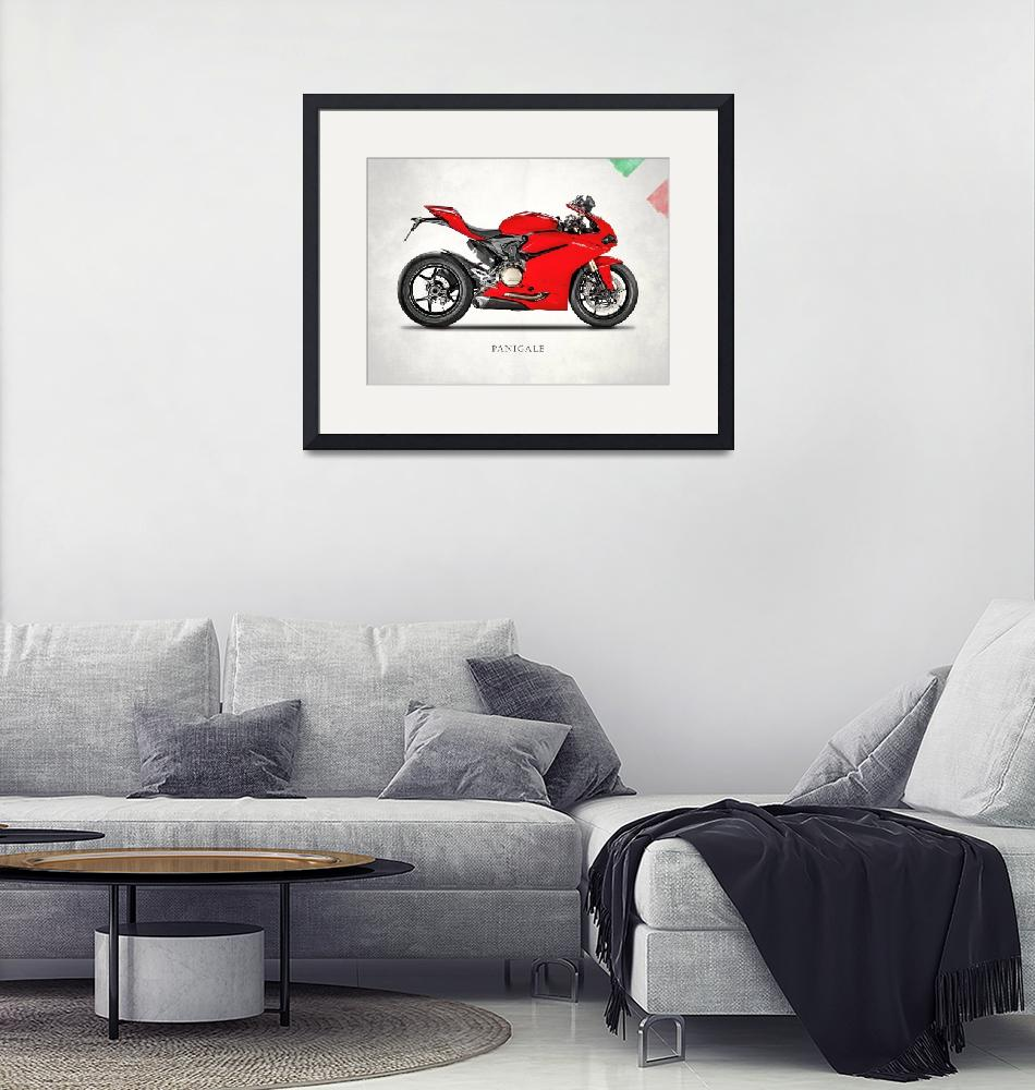"""Ducati Panigale 1299""  (2016) by mark-rogan"