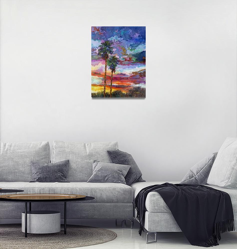 """""""Evening Glow""""  by HaileyWatermedia"""