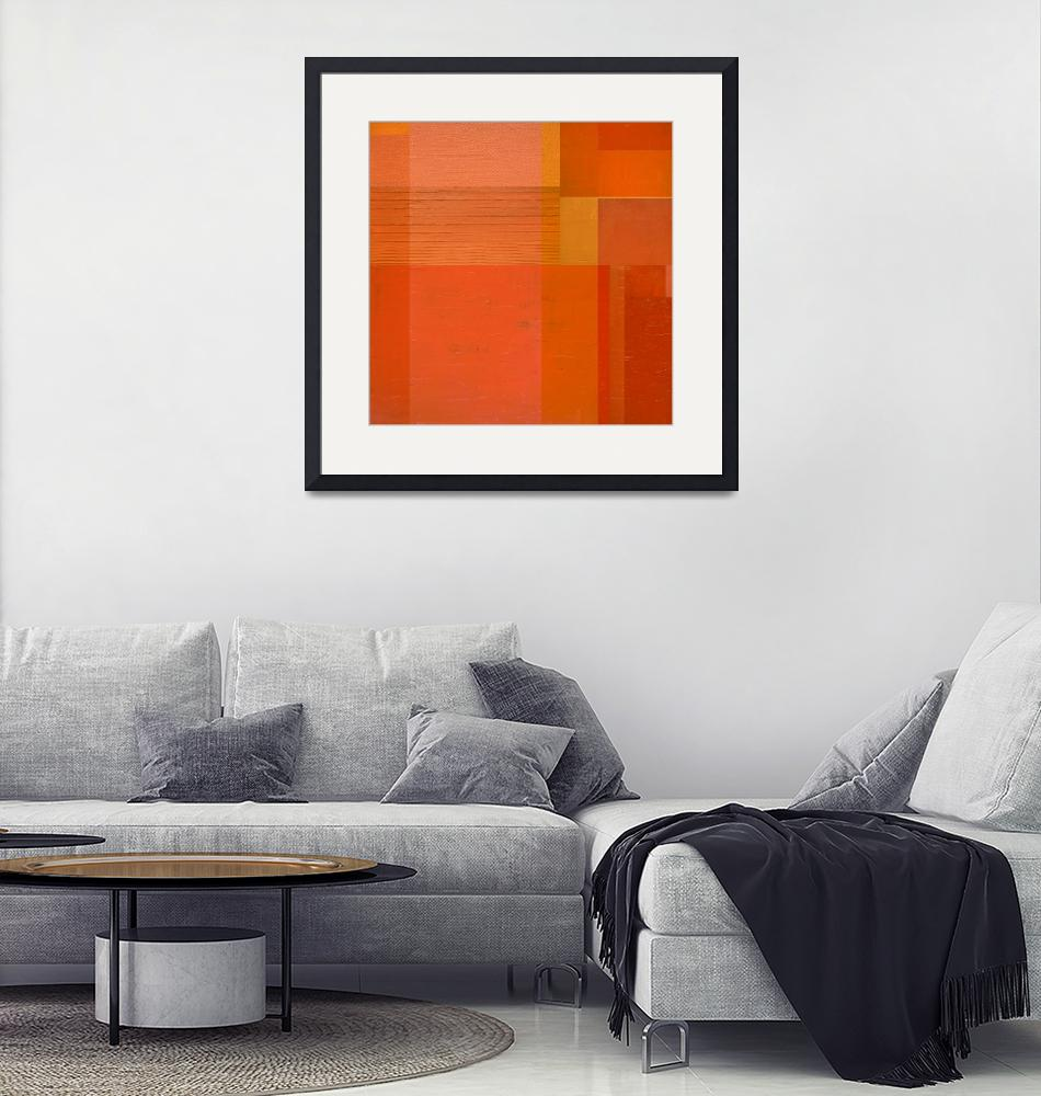 """""""Orange with Stripes""""  (2017) by Michelle1991"""