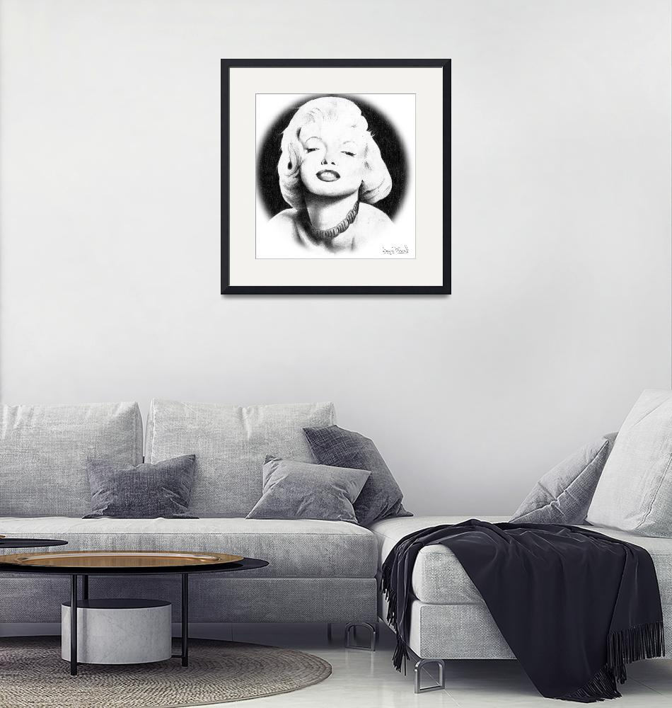 """Marilyn""  (1998) by waynepascall"