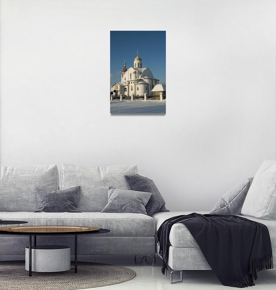 """Russian orthodox church""  (2011) by igorsin"