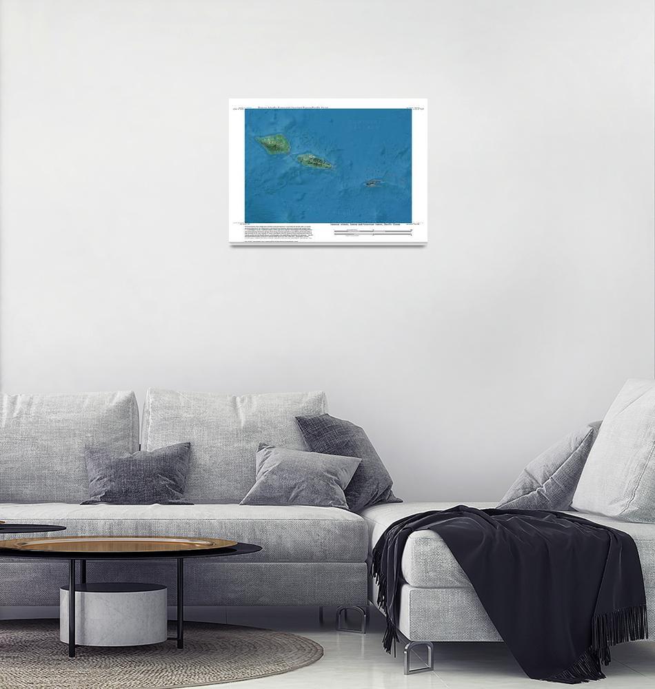 """Samoan Islands West, Oceania, Pacific Ocean""  by davecatts"