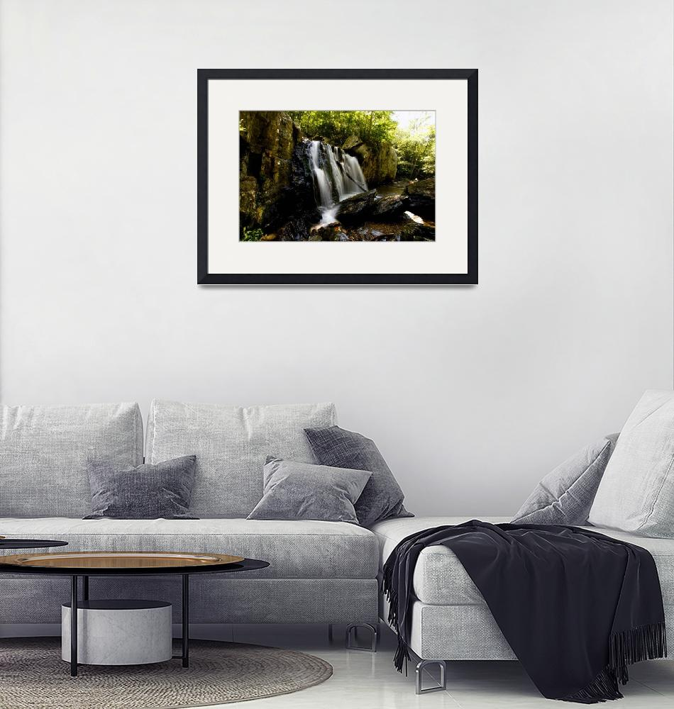 """""""Brute Water Falls As Waterfall""""  by Cayusa"""