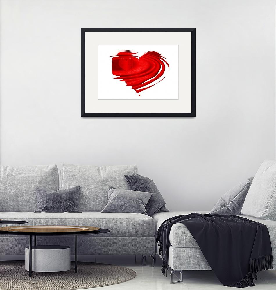 """""""floating heart""""  (2011) by susanboogie"""