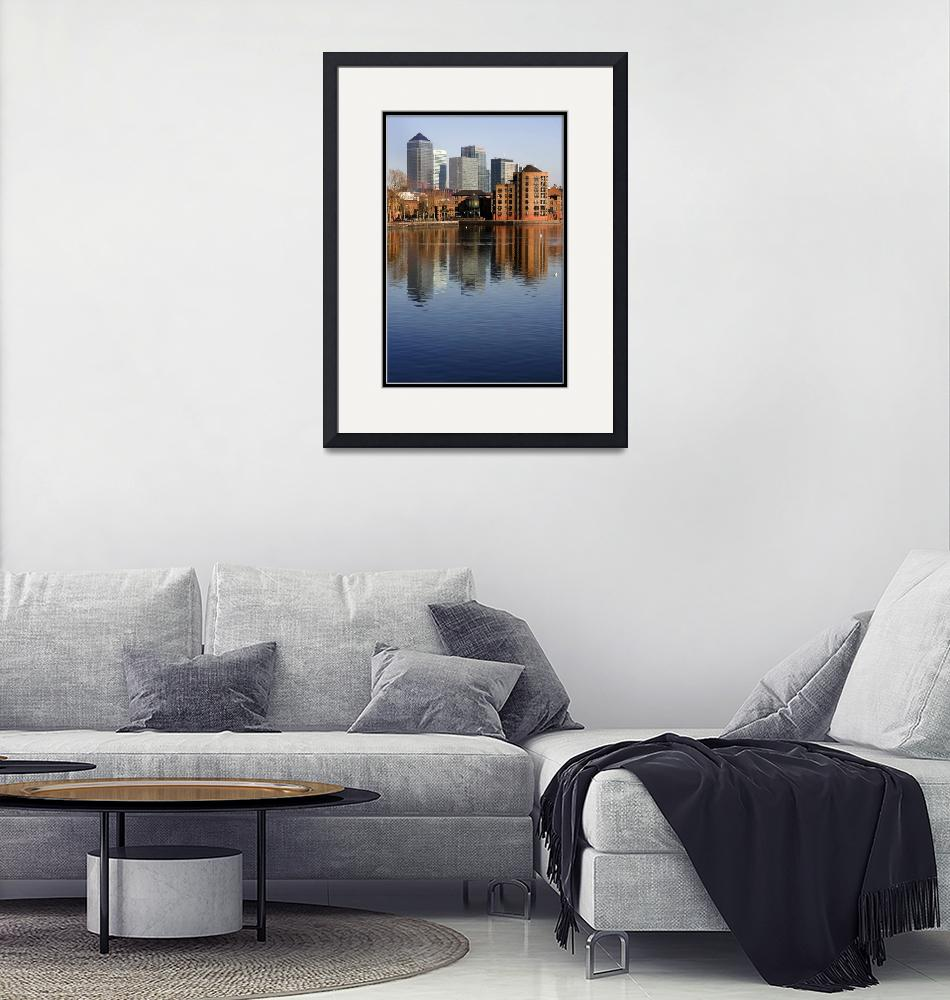 """""""A View from Rotherhithe""""  by Galya"""