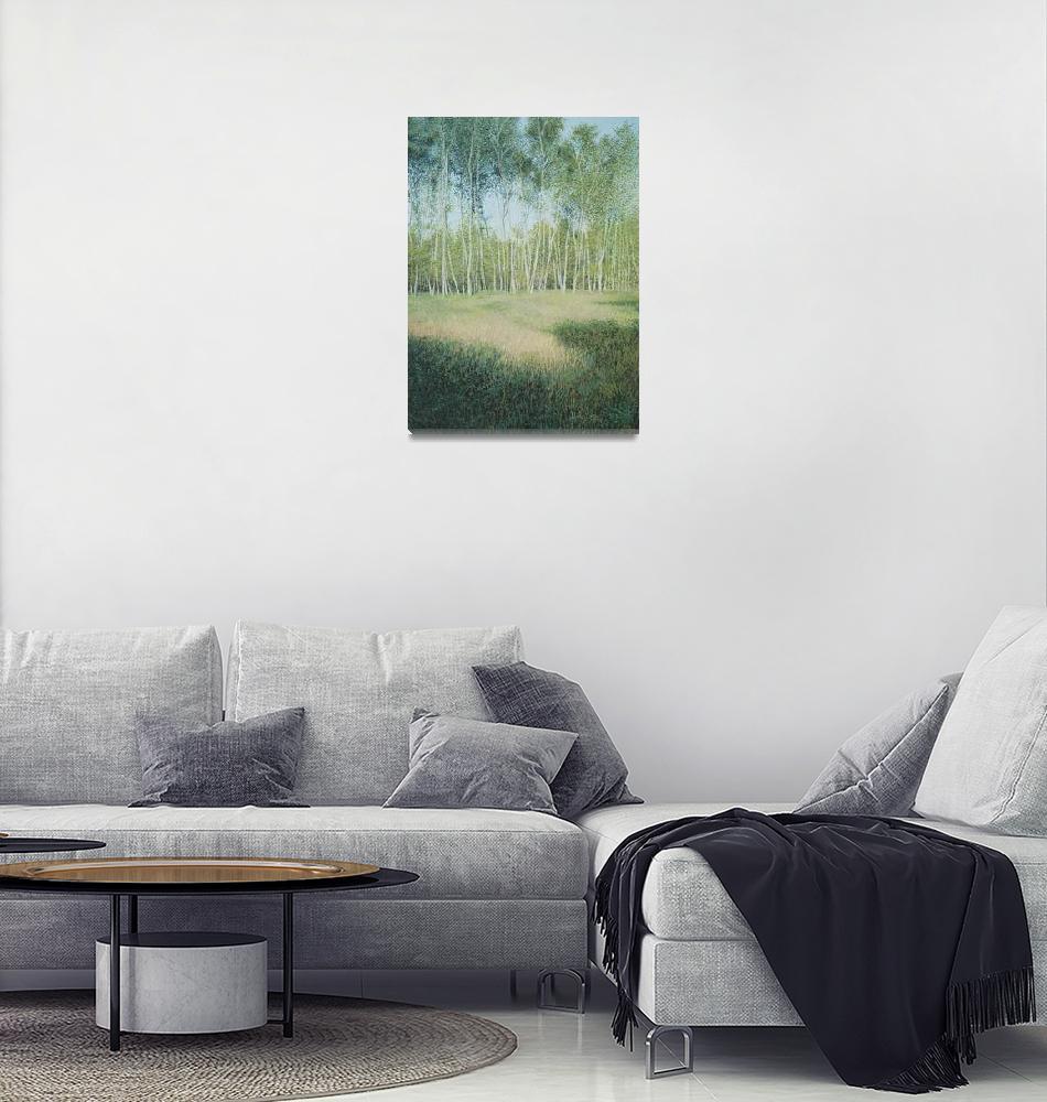 """Silver Birches""  (2004) by ericmcloughlin"