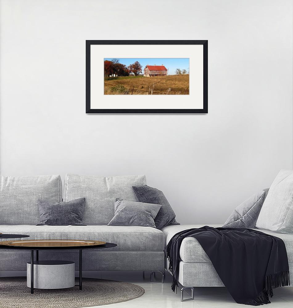 """""""Farm in Autumn""""  (2011) by WildAboutNaturePhotography"""