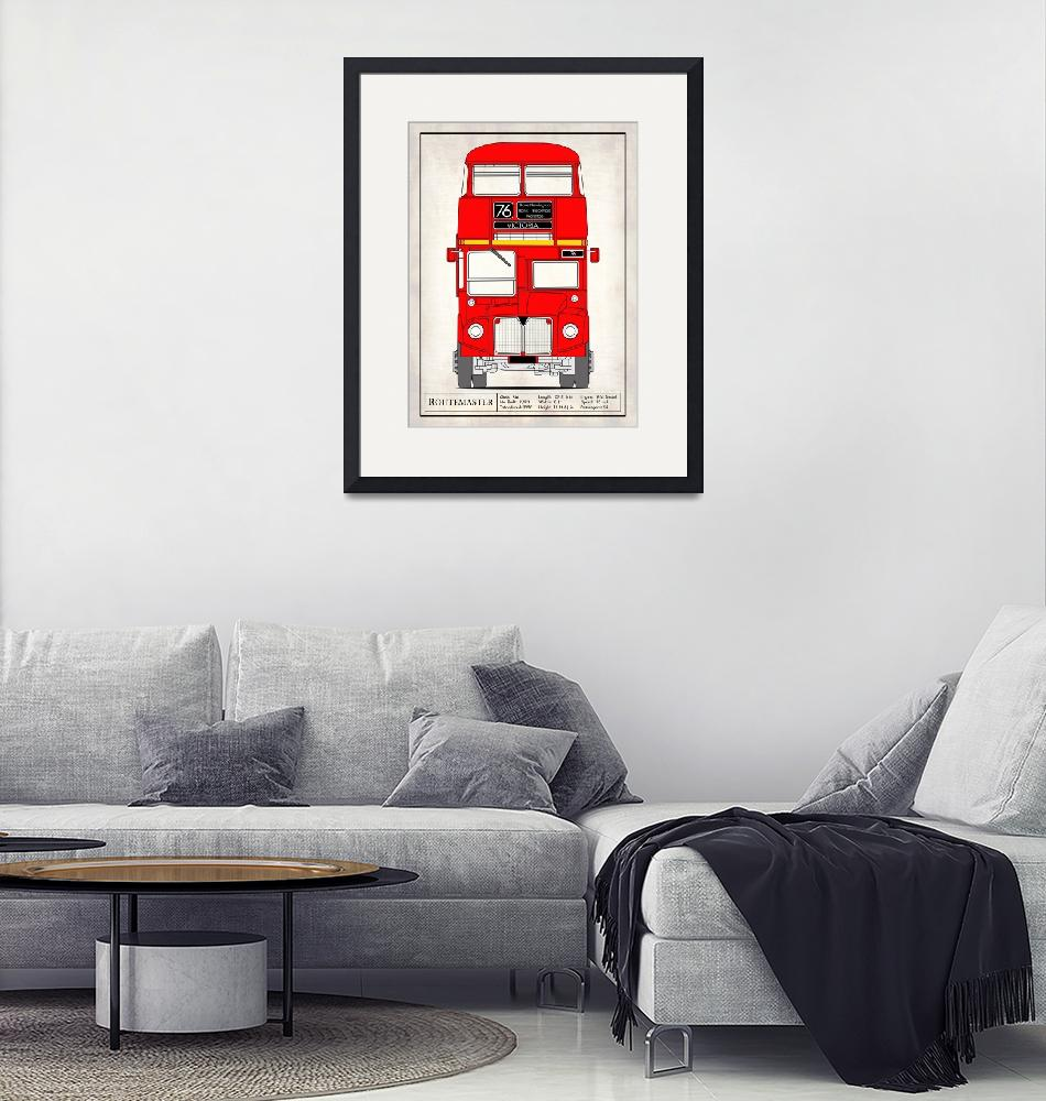 """""""The Routemaster London Bus""""  by mark-rogan"""