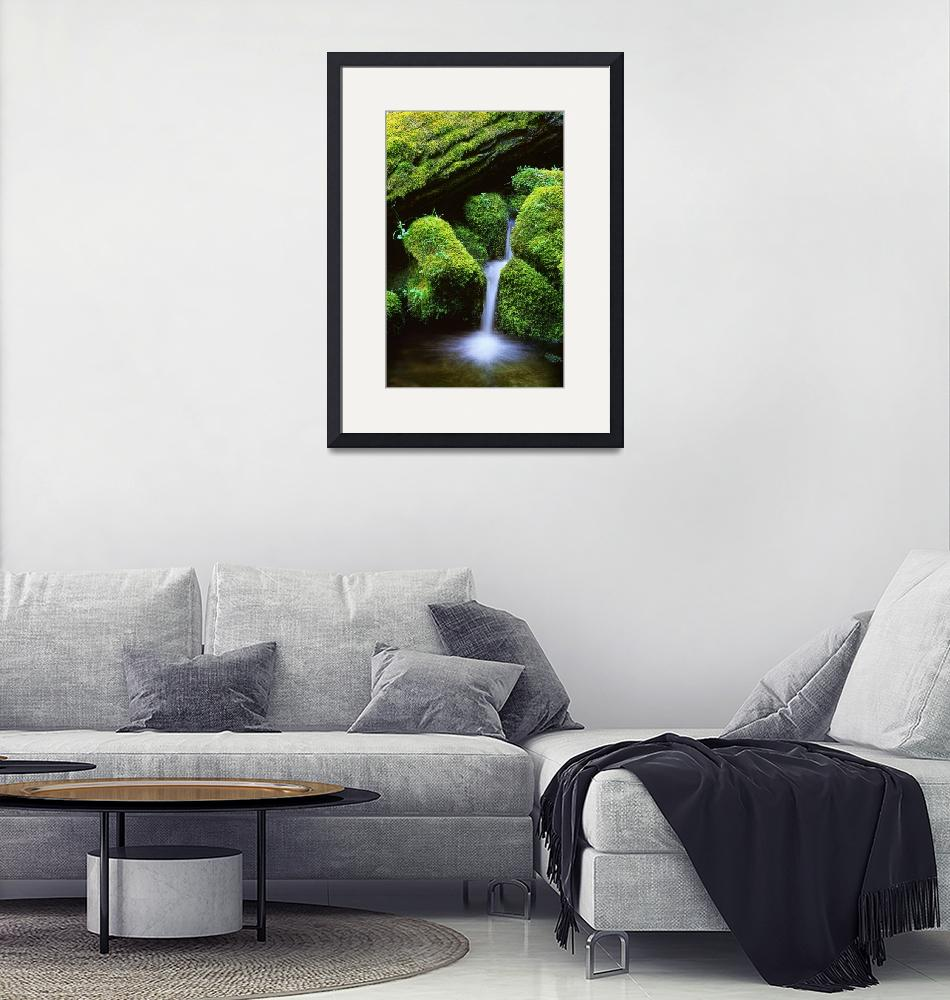 """""""Mossy Cascade""""  (2002) by Inge-Johnsson"""