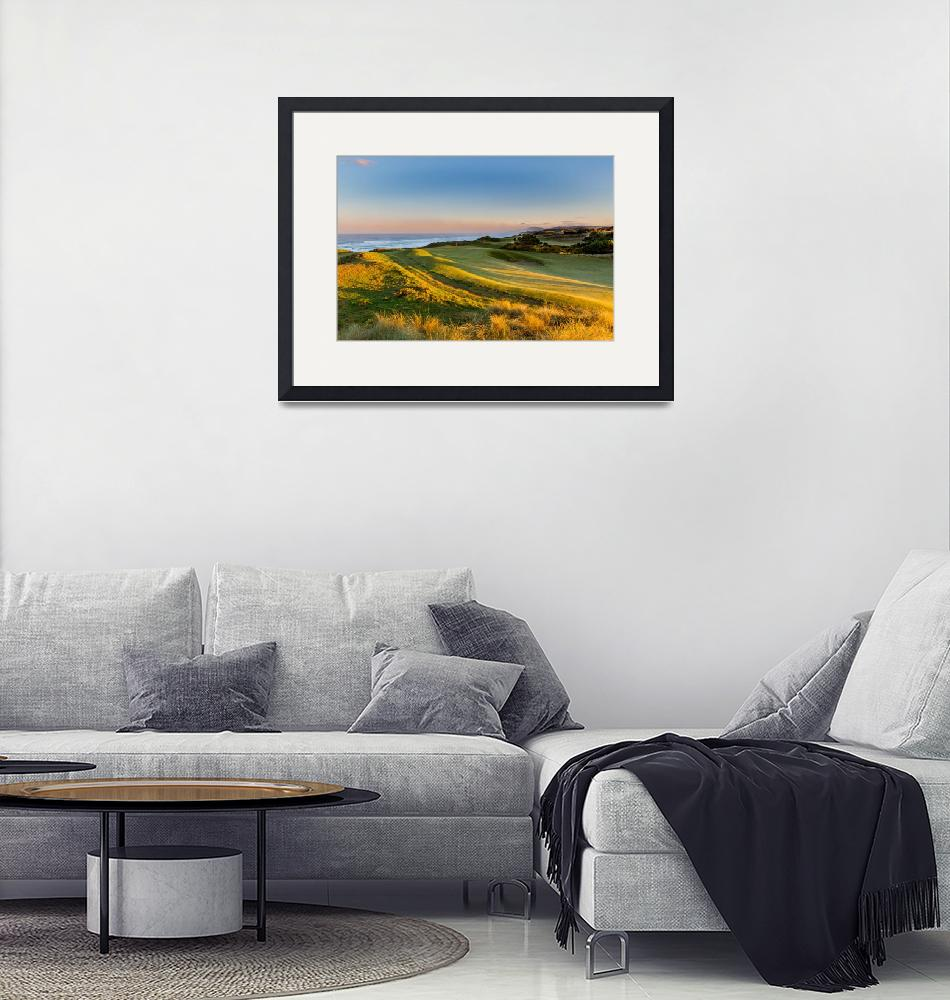 """""""Bandon Dunes Hole #15""""  (2015) by centioliphotography"""
