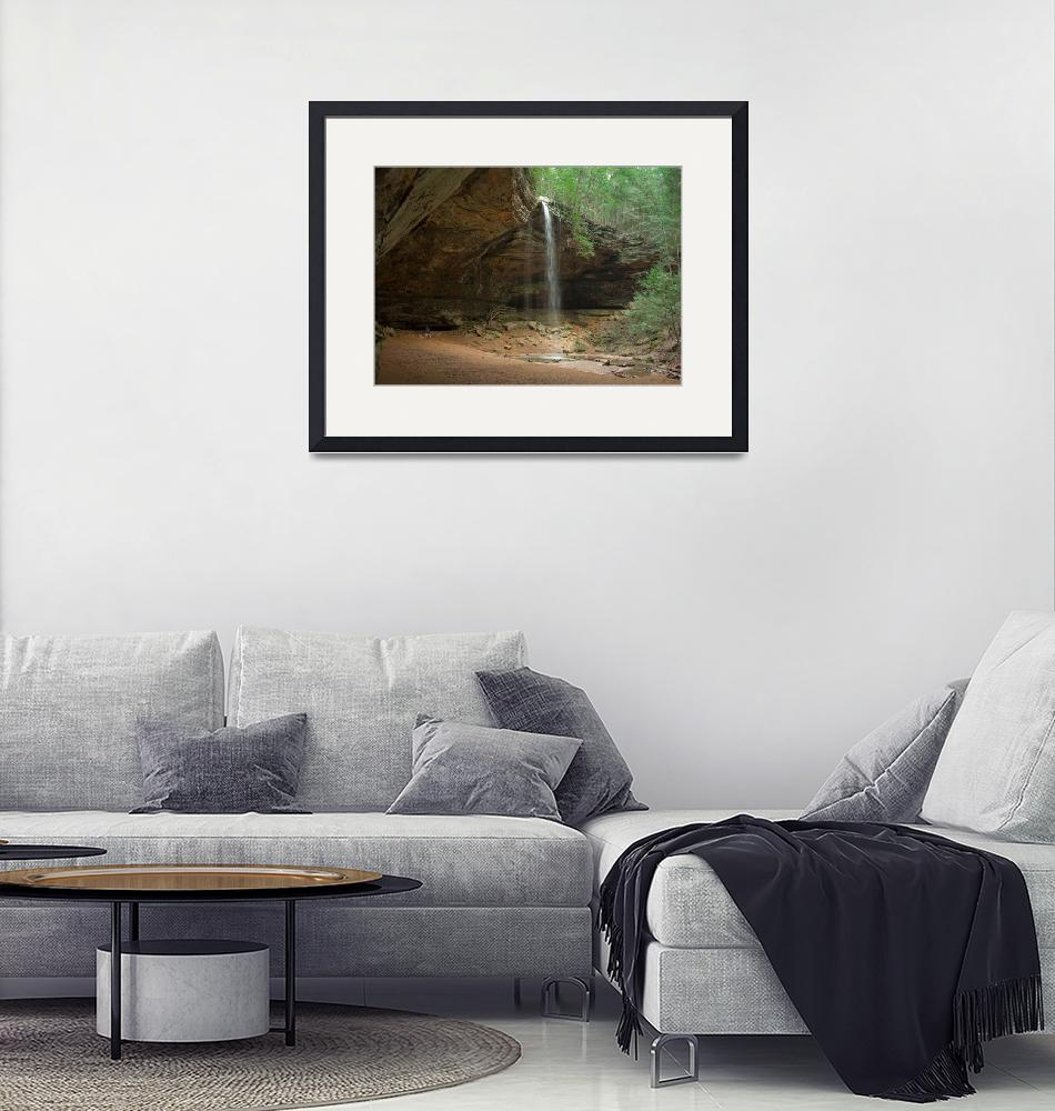 """""""Ash Cave Hocking Hills, Ohio""""  (2011) by Buyitfromjoe"""