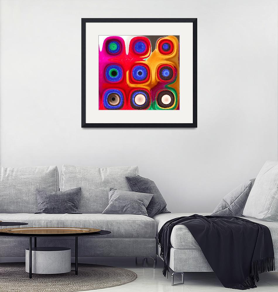 """""""Color in Circles 2""""  (2008) by psovart"""