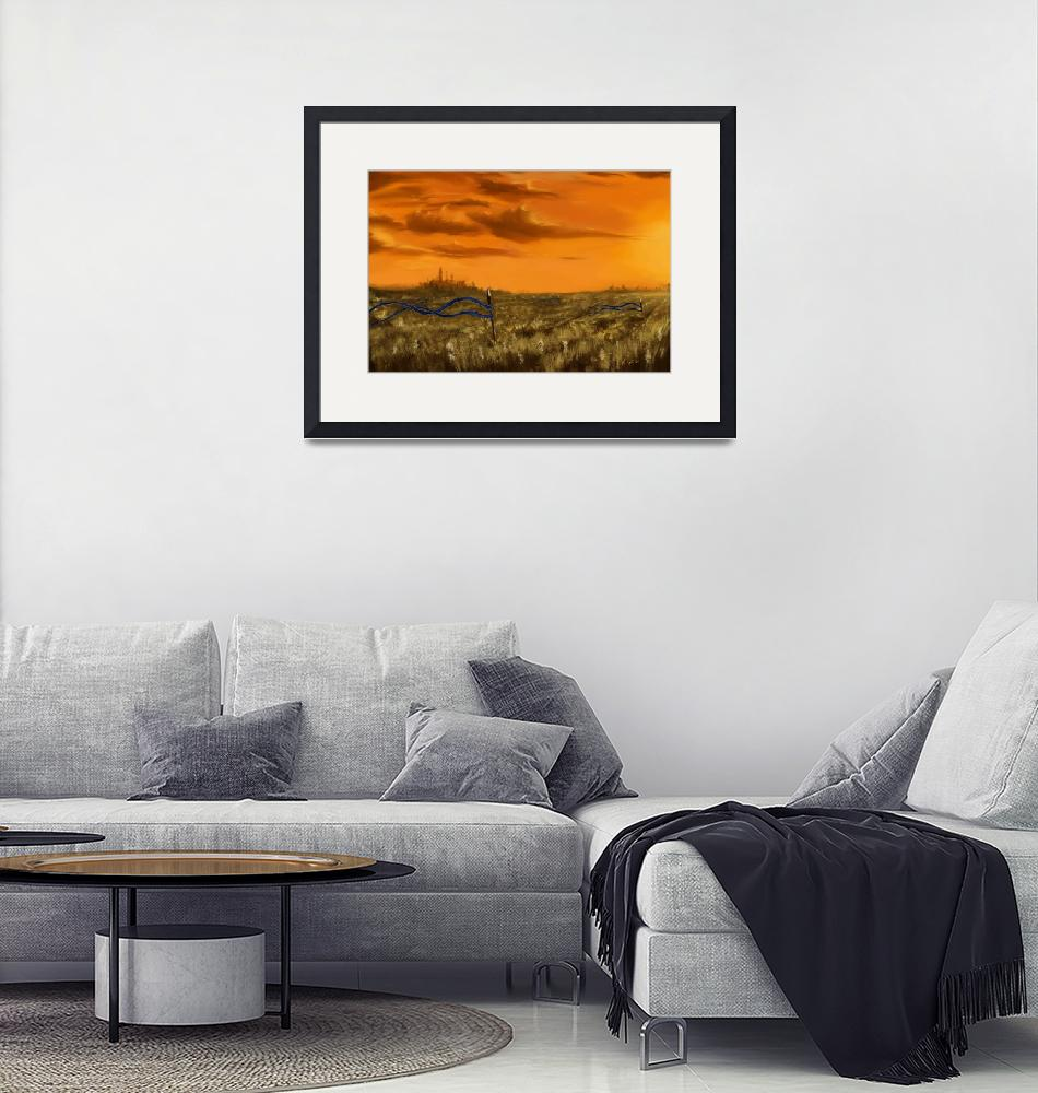 """""""canvasPrint_plainsMTG_1""""  by Xyster13"""