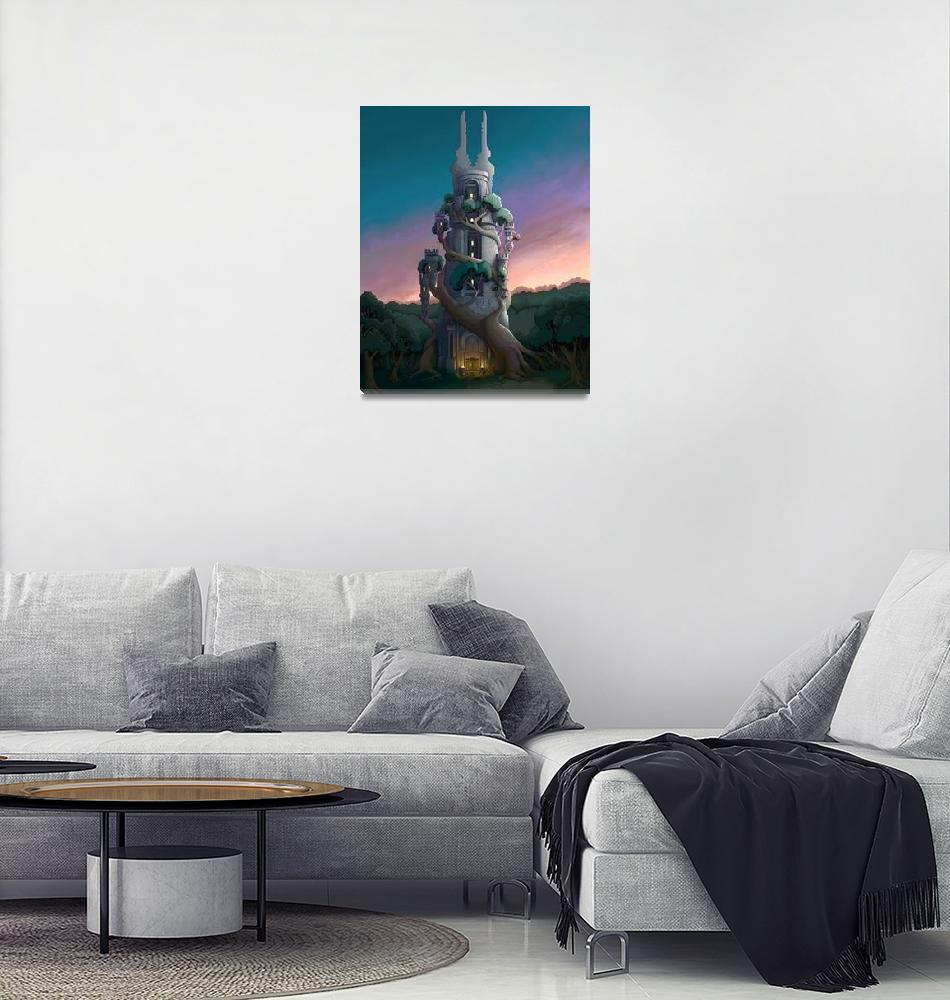 """""""Dawn Tower""""  (2009) by JoshWest"""