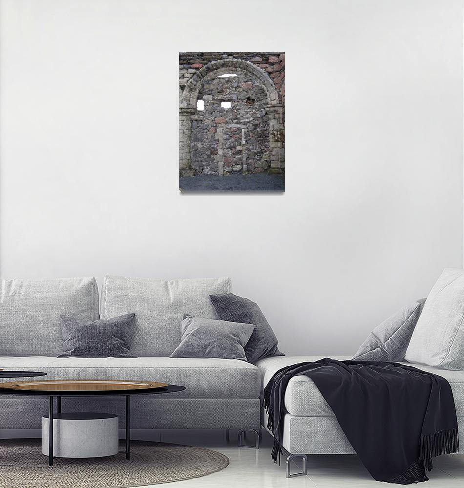 """Iona Convent Ruins 6""  (2010) by StevenHorst"