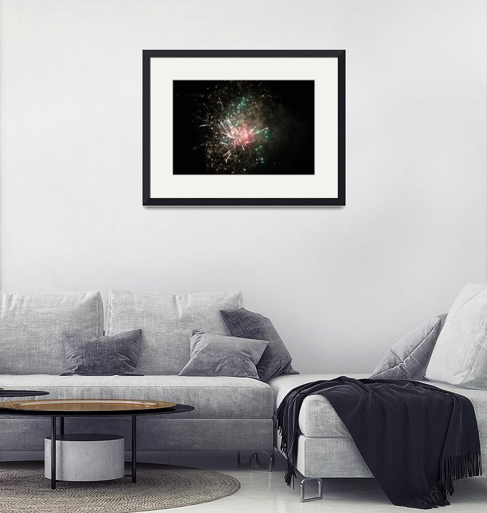 """""""Fireworks in Naples, Italy""""  (2011) by easyfigure"""