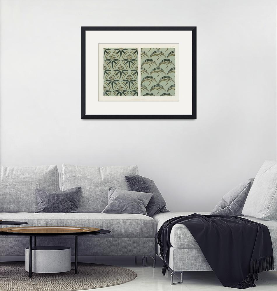 """""""Japanese Design Patterns by G.A and M.A. Audsley""""  by FineArtClassics"""