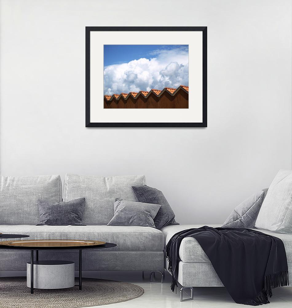 """""""Clouds and roofs""""  by GiacomoDonati"""