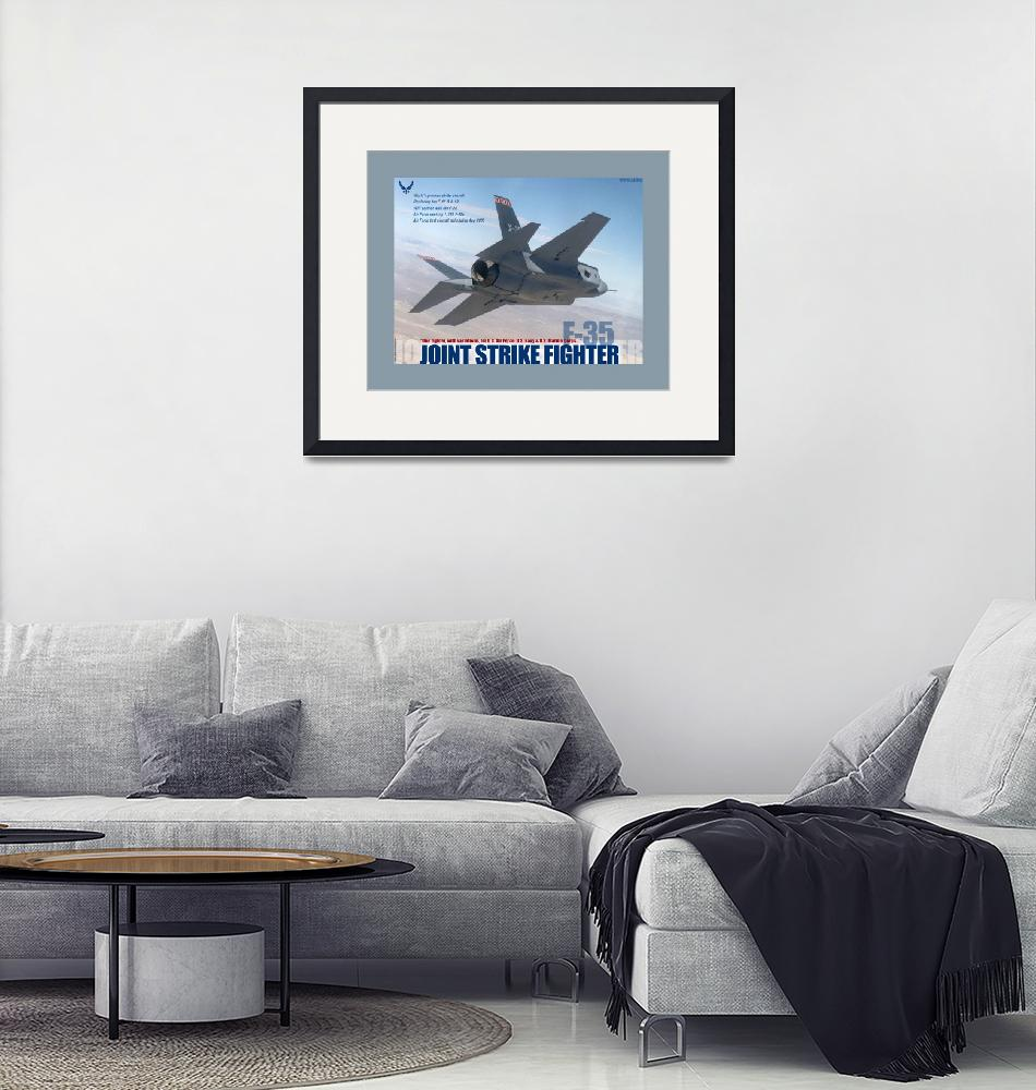 """F 35 Joint Strike Fighter""  (2013) by TheNorthernTerritory"