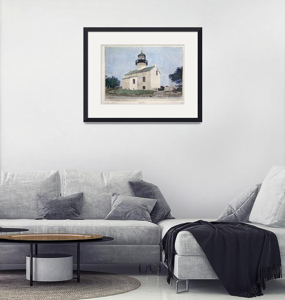 """""""Cabrillo [ Point Loma Lighthouse]""""  (2004) by DannyPhifer"""