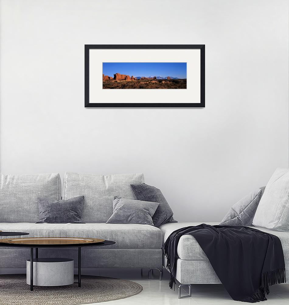 """""""Arches National Park Moab Utah""""  by Panoramic_Images"""