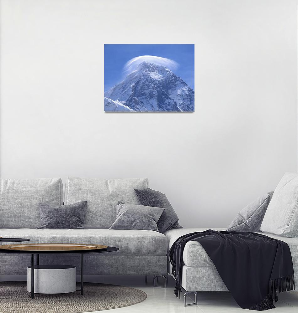 """Crown on Everest""  (2007) by craigkassover"