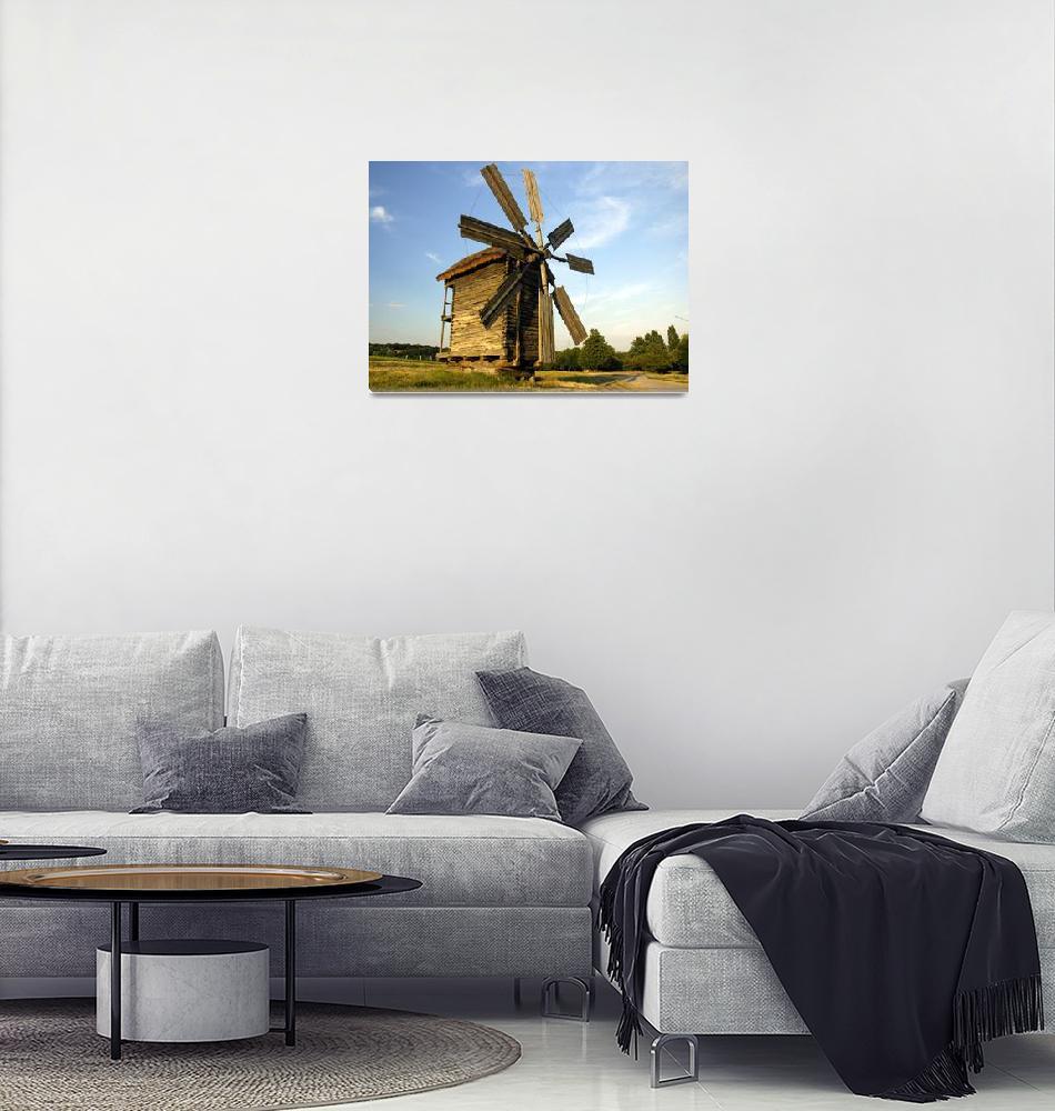 """Old Windmill""  by zinok"