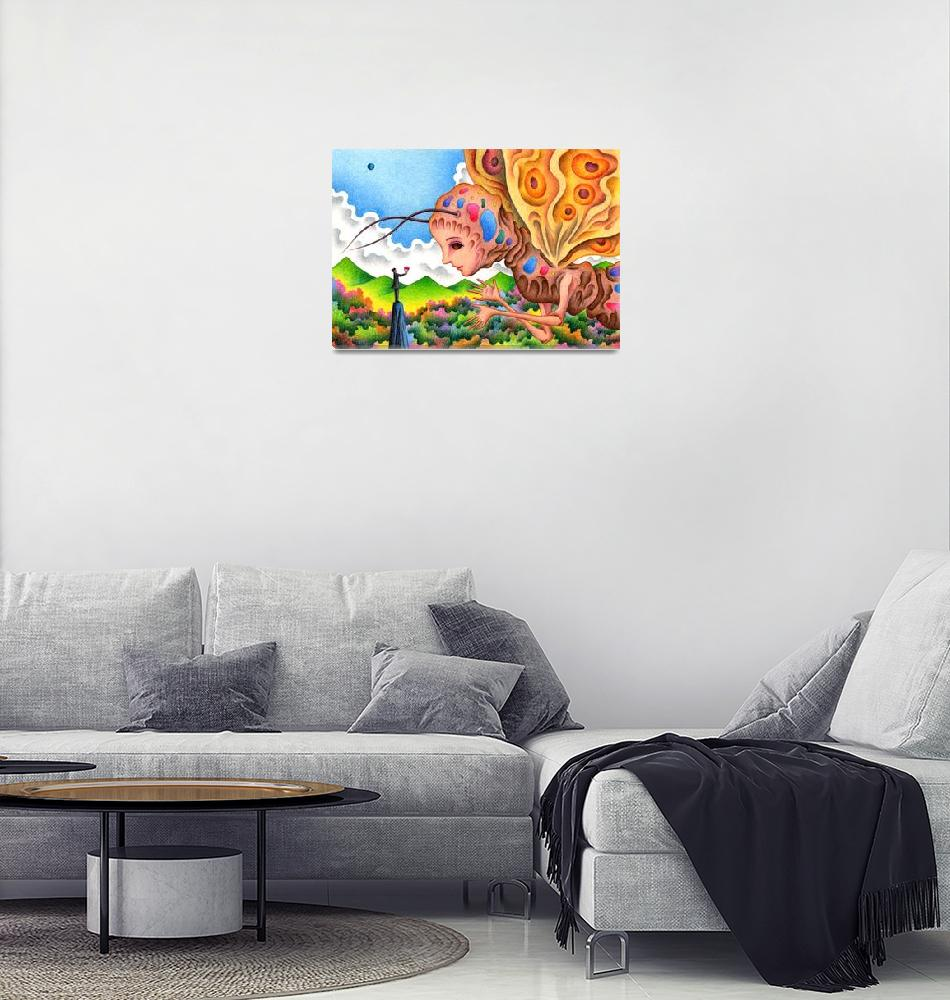 """Fantasy Picture - Moth"