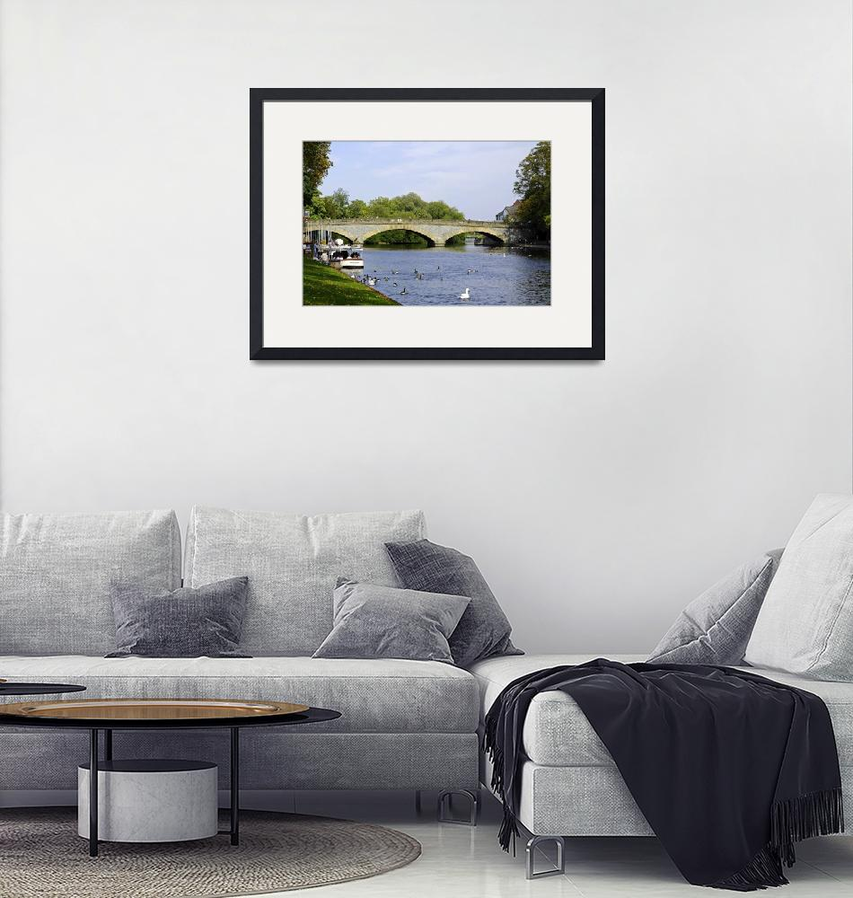 """Workman Bridge and The River Avon (30133-RDA)""  (2011) by rodjohnson"