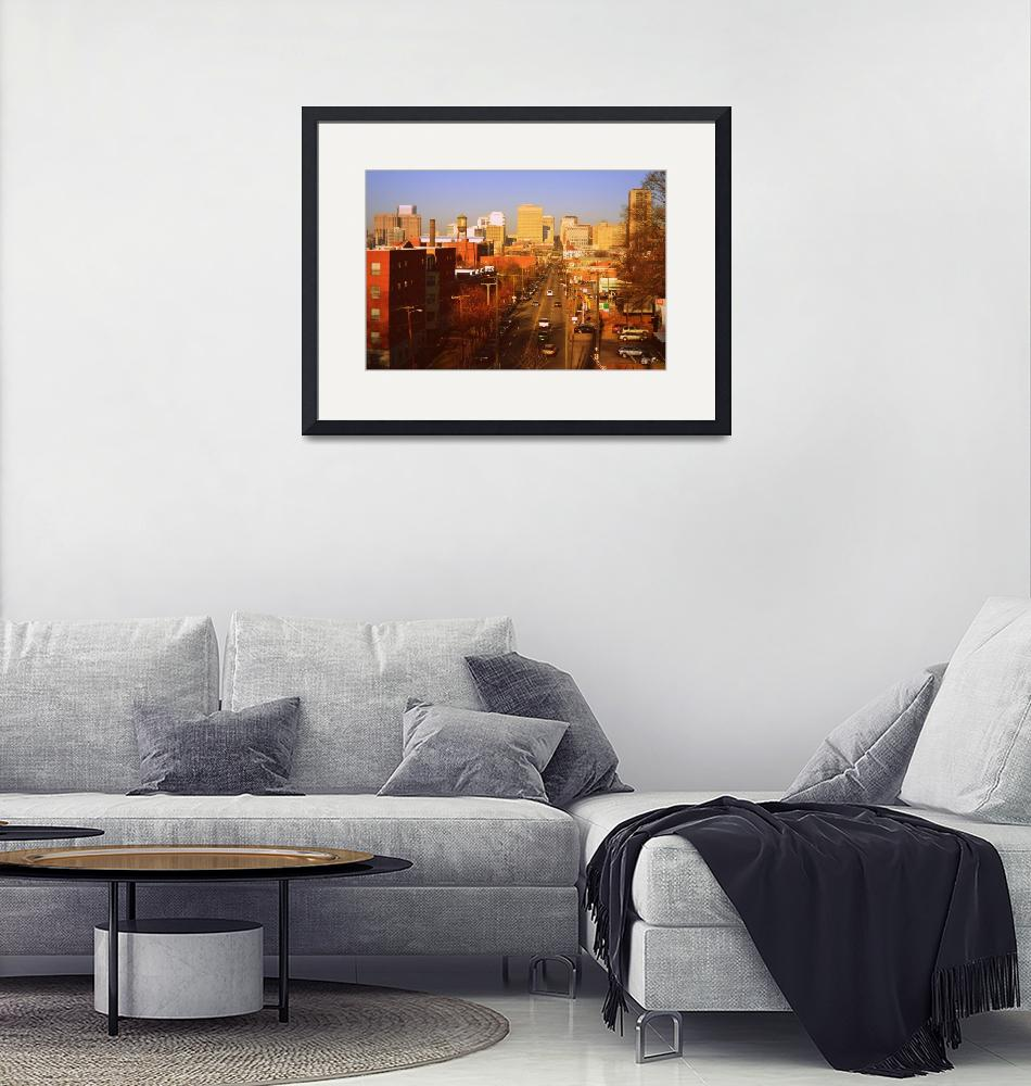 """""""East From Libby Hill""""  (2015) by Artsart"""