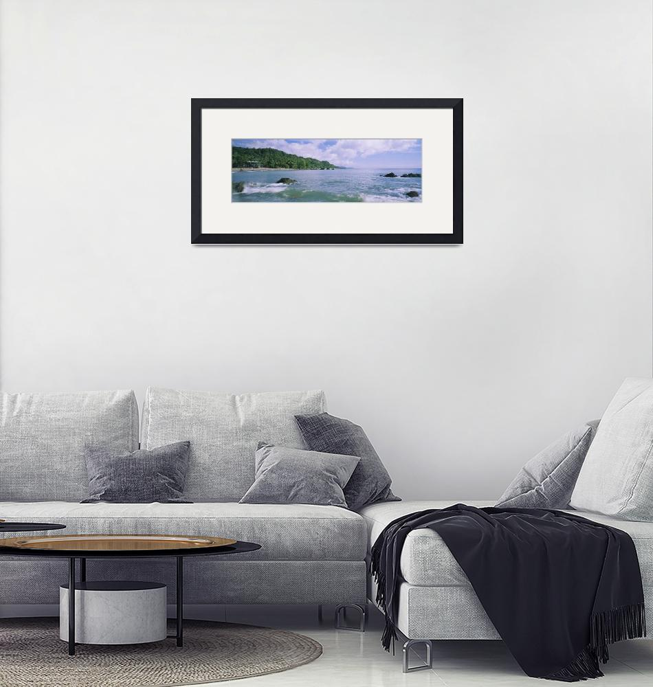 """""""Panoramic view of the sea""""  by Panoramic_Images"""