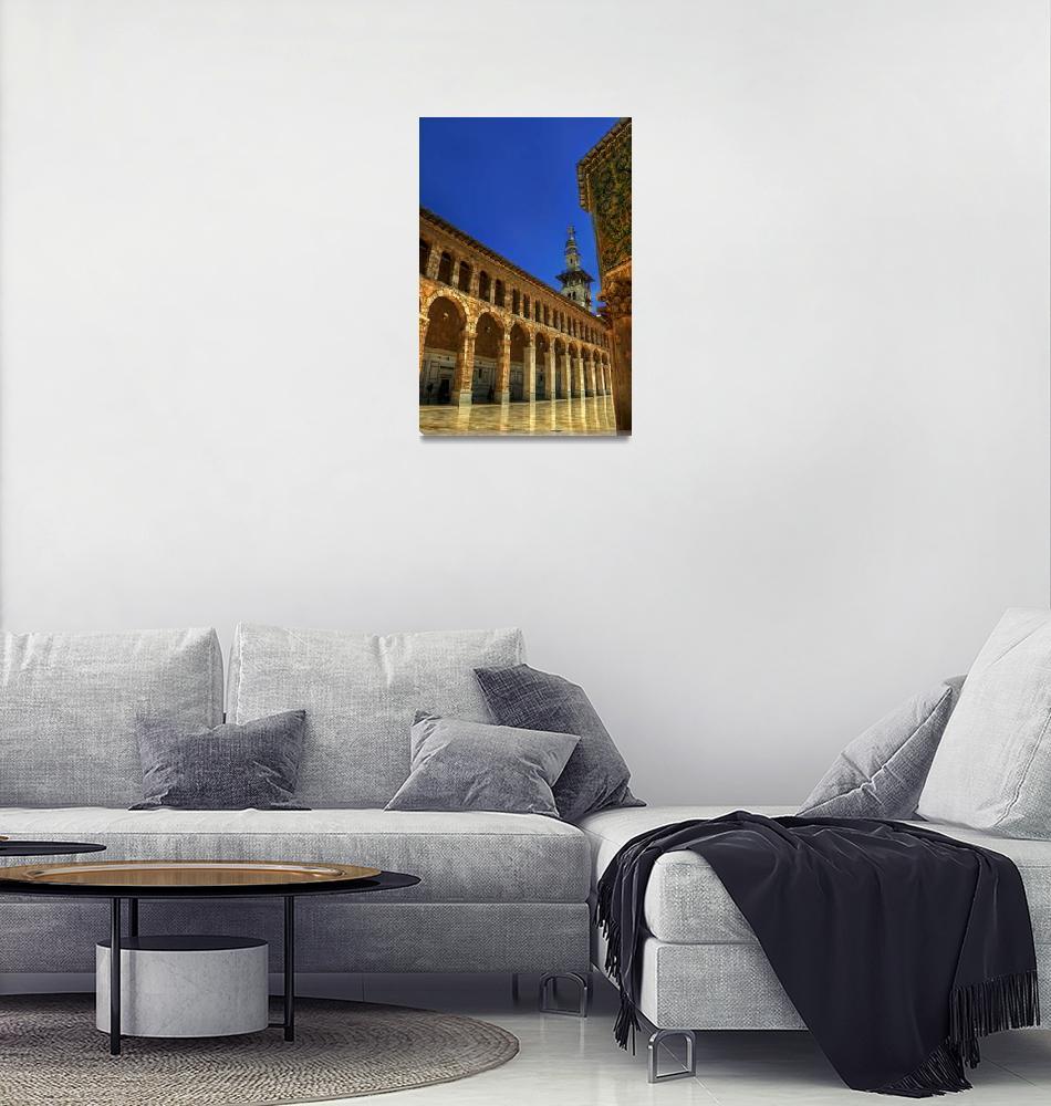 """""""Umayad Mosque-Damascus -AWARD WINNING IMAGE""""  (2009) by Waseem"""
