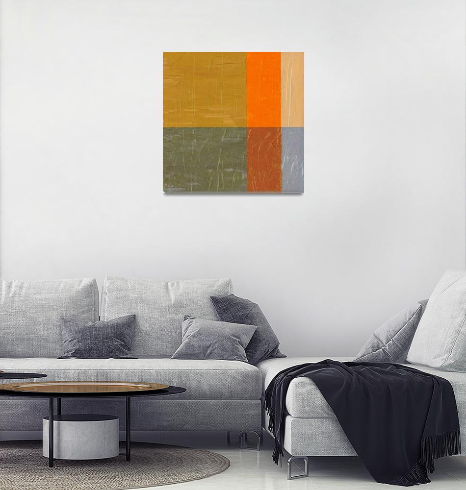 """""""Orange and Grey""""  (2012) by Michelle1991"""