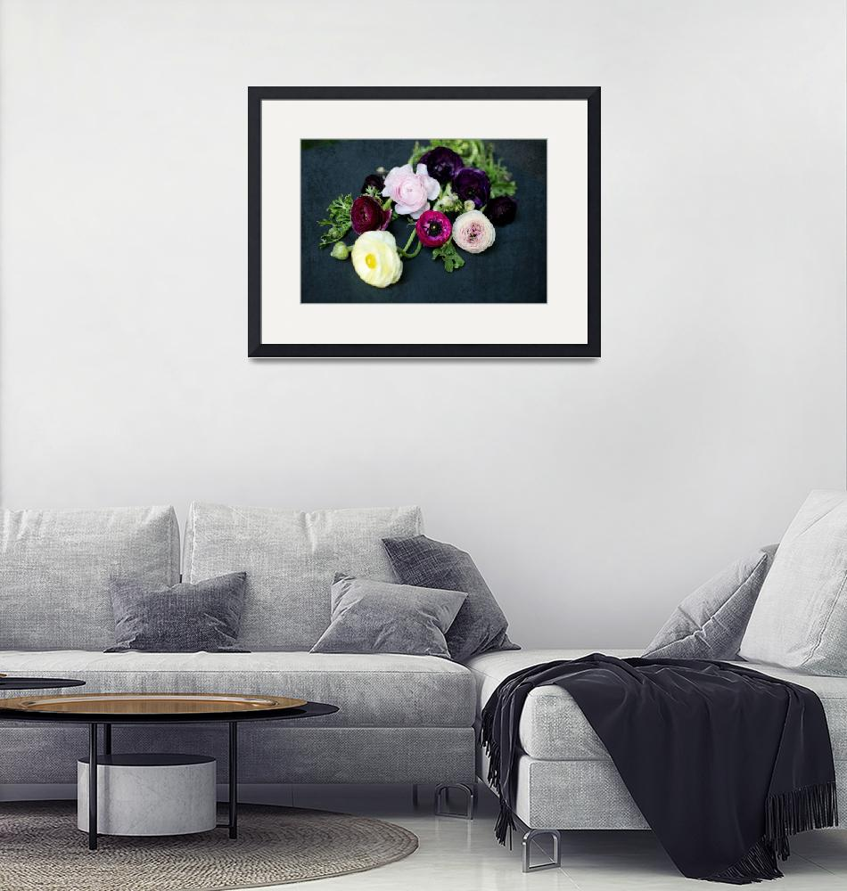 """""""ORL-11188-1 Floral Sparkle 6""""  by Aneri"""