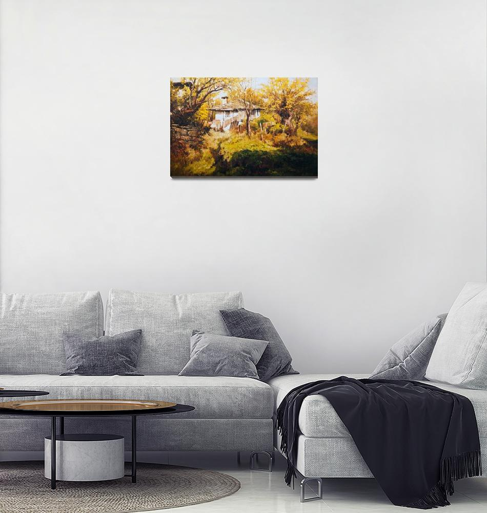 """Bulgarian houses""  by REDlightIMAGE"