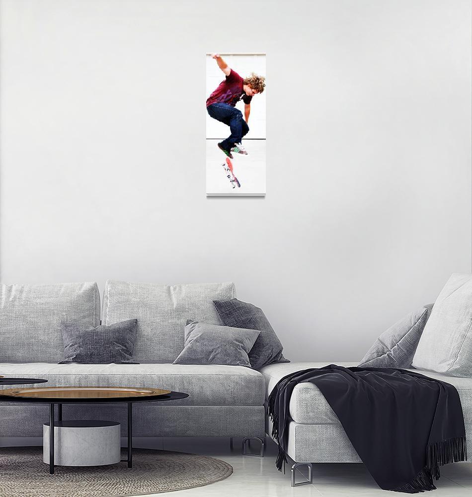 """""""Skateboarder""""  (2010) by chadcox"""