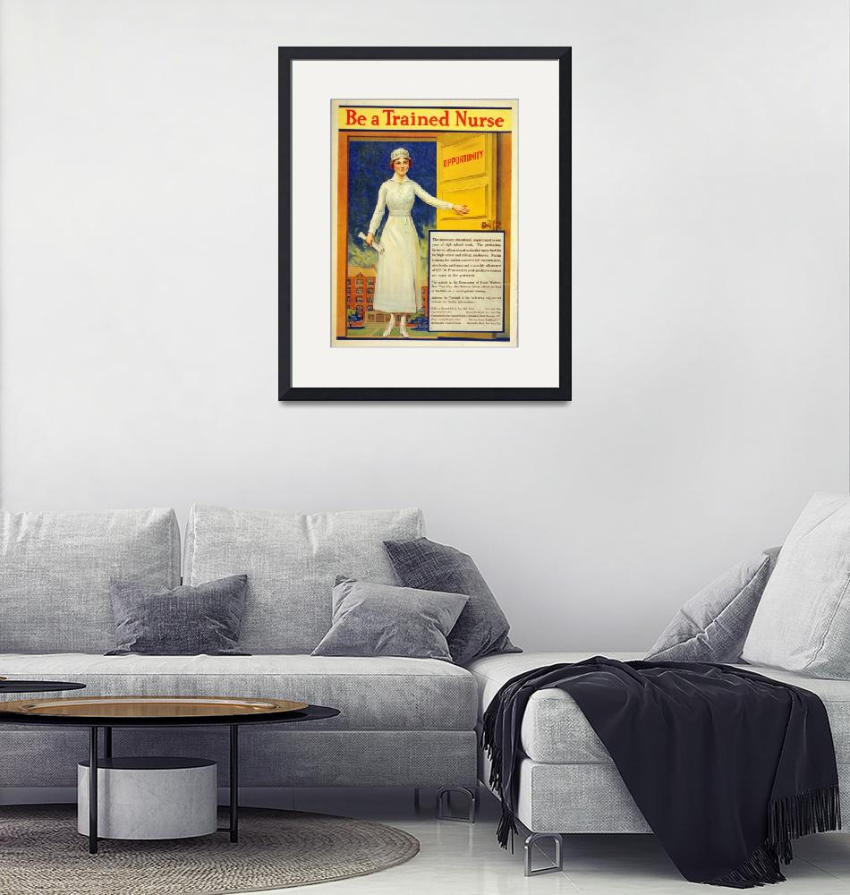 """WORLD WAR ONE POSTER""  (1917) by homegear"